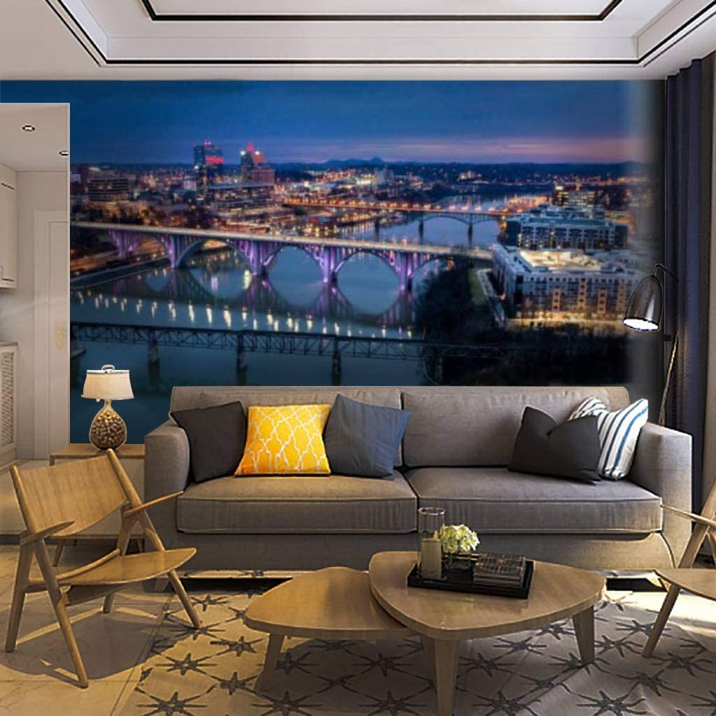 Wallpaper お気に入り Wall Mural Downtown Before お買得 Knoxville Tennessee Sunrise