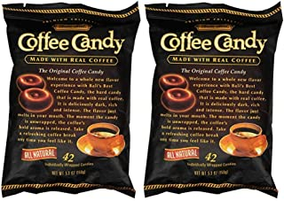 Bali's Best Coffee Candy Individually Wrapped (42 Pcs)(Pack of 2)