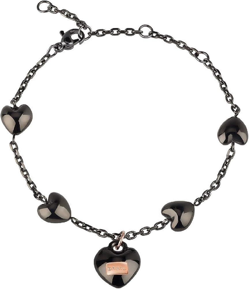 Breil bracciale donna collezione kilos of love in acciaio TJ2728