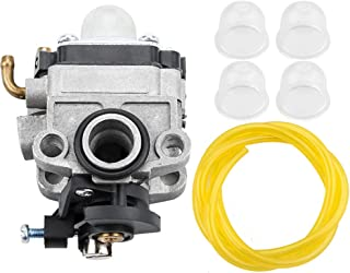Leopop Carburetor Fuel Line Primer Bulb Kit for WYL-19-1 WYL-19 WYL-229 WYL-229-1 Troy-Bilt TB575SS TB590BC TB146EC Shindaiwa T230 T230X T230XR-EMC Carb Engine Gas Trimmer Brushcutter