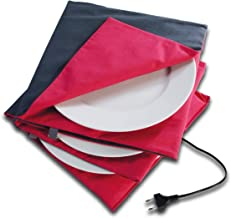 Solis Chauffe Plat Maxi Gourmet 865 Ø 32cm - Chauffe Platt Electrique - Arrêt automatique après 5 heures - Double isolatio...