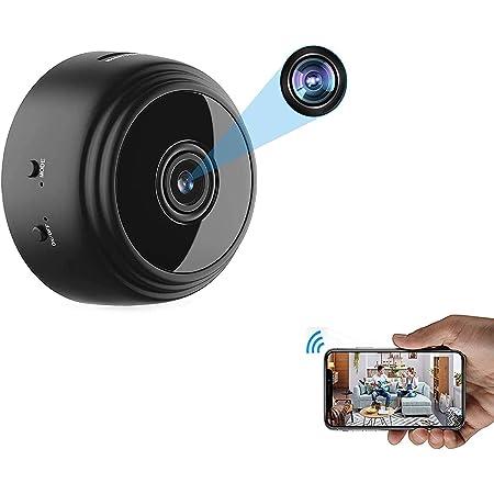 Mini USB Wireless Camera WiFi Camcorder HD 1080P Anti-theft Cam Security W6T8