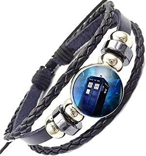 Premium TV Show Themed Leather Braided Bracelet for Men and Women