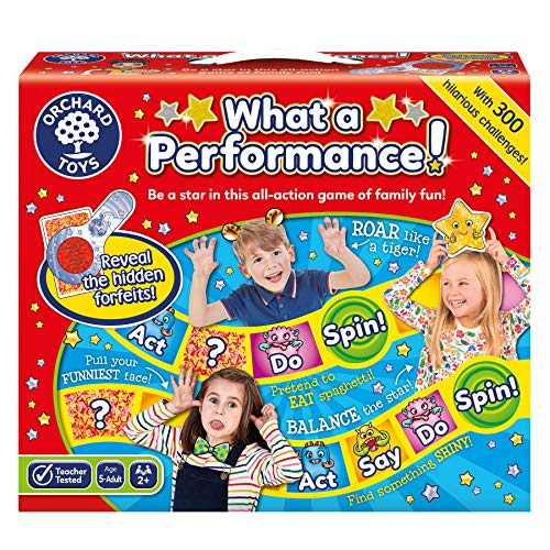 Orchard Toys - Gioco educativo What a Performance!, 2-4 Giocatori, 5+ Anni [Lingua Inglese]