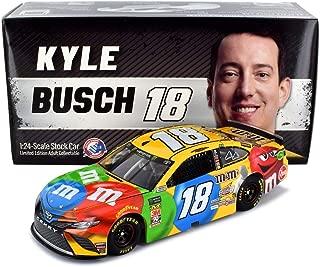 Lionel Racing Kyle Busch 2019 M&Ms NASCAR Diecast Car 1:24 Scale