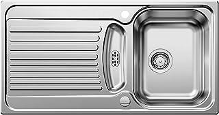 BLANCO Toga 5 S, Küchenspüle, Edelstahl Naturfinish, 1 Stück, 516998