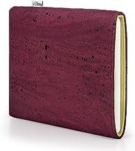 Funda Stilbag eReader Vigo para Icarus Illumina XL HD | eBook Reader Bag - Made in Germany | Corcho Rojo Vino, Fieltro de Lana Verde Junco