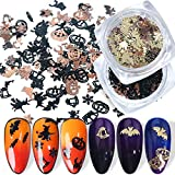 BFY Halloween Nail Art Stickers Decals Nail...