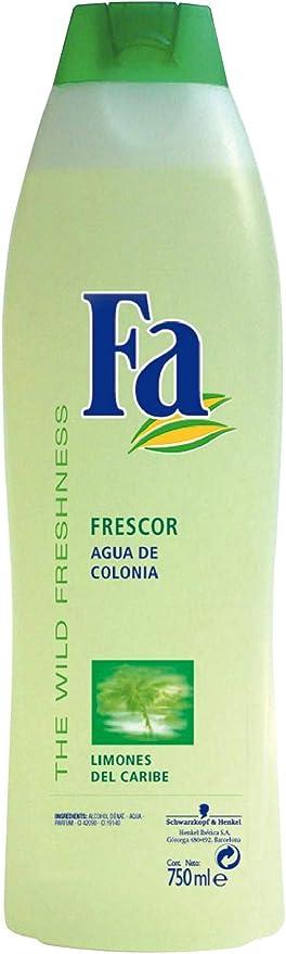 Fa - Colonia Limones del Caribe - Essence d'agrumes - 5 unités de 750 ml :  Amazon.fr: Beauté et Parfum