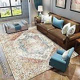 A-Generic Alfombra marroquí Vintage, Alfombra para Sala de Estar, hogar, Dormitorio, sofá, Mesa de café, Alfombra para el Suelo, Alfombra para Sala de Estudio-5_Los 50x80cm