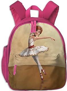 Mochila para niños Cute Animal Cartoon Ballerina Leap Pocket Backpacks Backpack Schoolbag For Childrens Kids Children Boys Girls