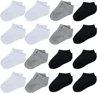 Toddler Baby Socks 16 Pack Low Cut Ankle Socks Boys Girls Baby Toddler Socks