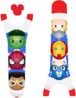 Vinyl Skin Decal Wrap Sticker Cover for the MagicBand 2 Magic Band 2 Superhero Friends Themed