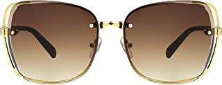 Foster Grant Women's SFGF20109 Delilah' Sunglasses, Pale Gold, One Size
