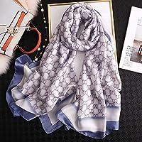 闪电 2020人の女性のスカーフ椿の絹のスカーフ、女性ショール女性の小包印刷されたスカーフの女性のショール (色 : 14)