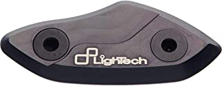 Lightech 99-07 Yamaha YZF-R6 Mirror Block Off Plates (Black)