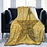 Musicals Hamilton Ultra Soft Micro Fleece Blanket, Air Conditioner Blanket, Suitable for Bed,Sofa,Chair, Camp Bed Living Room 50x40 Inch