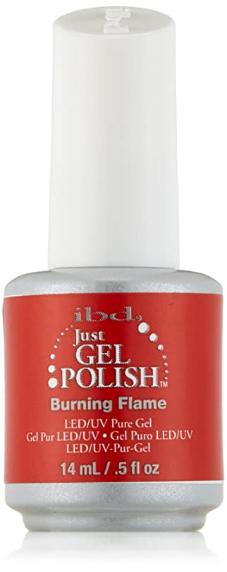 テレックス感心する最後にIBD Just Gel Polish - Burning Flame - 0.5oz / 14ml