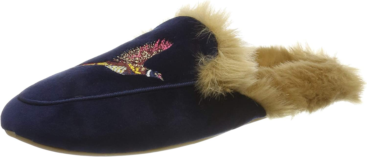 Joules Womens Ferndale Premium Loafer Slippers