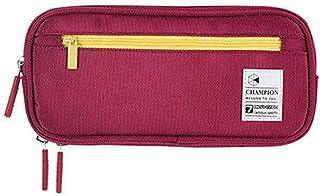 Large Capacity Pencil Case Student Pen Pencil Bag Case Holder Pen Organizer School Red
