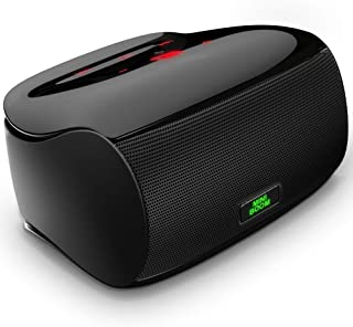 Touch Bluetooth Speakers Portable Wireless Outdoor Speaker with Superior Sound and Dual Powerful Subwoofer Enhanced Rich Bass/Built in Microphone/Bluetooth 4.1 for iPhone/ipad/Tablet/Laptop/Echo dot