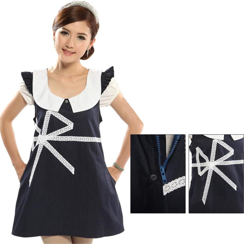 Radiation Predection Suit Maternity Clothes Four Seasons Silver Fiber Radiation Predection Dress to Send Apron
