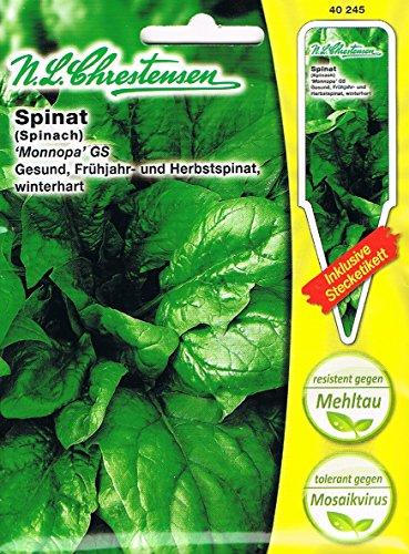 Spinat Monnopa GS (Portion inklusive Stecketikett)