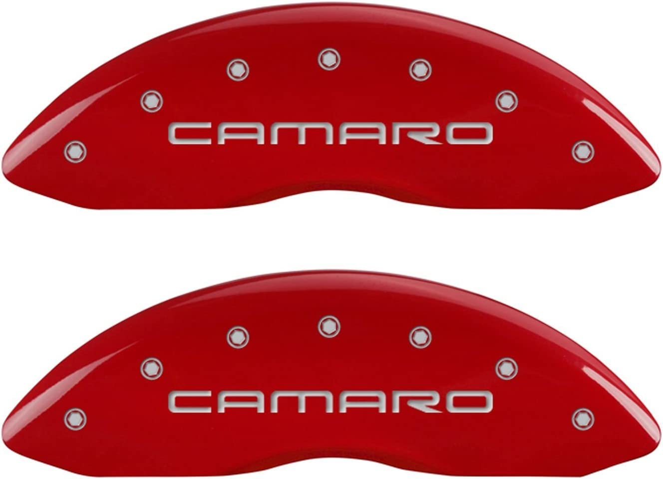 MGP Caliper Covers 14027SZ84RD Cover with Ranking TOP8 Powder Red Coa Fresno Mall
