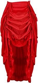 red gothic corset