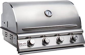 Blaze Prelude LBM 32-Inch 4-Burner Built-in Propane Gas Grill - BLZ-4LBM-LP