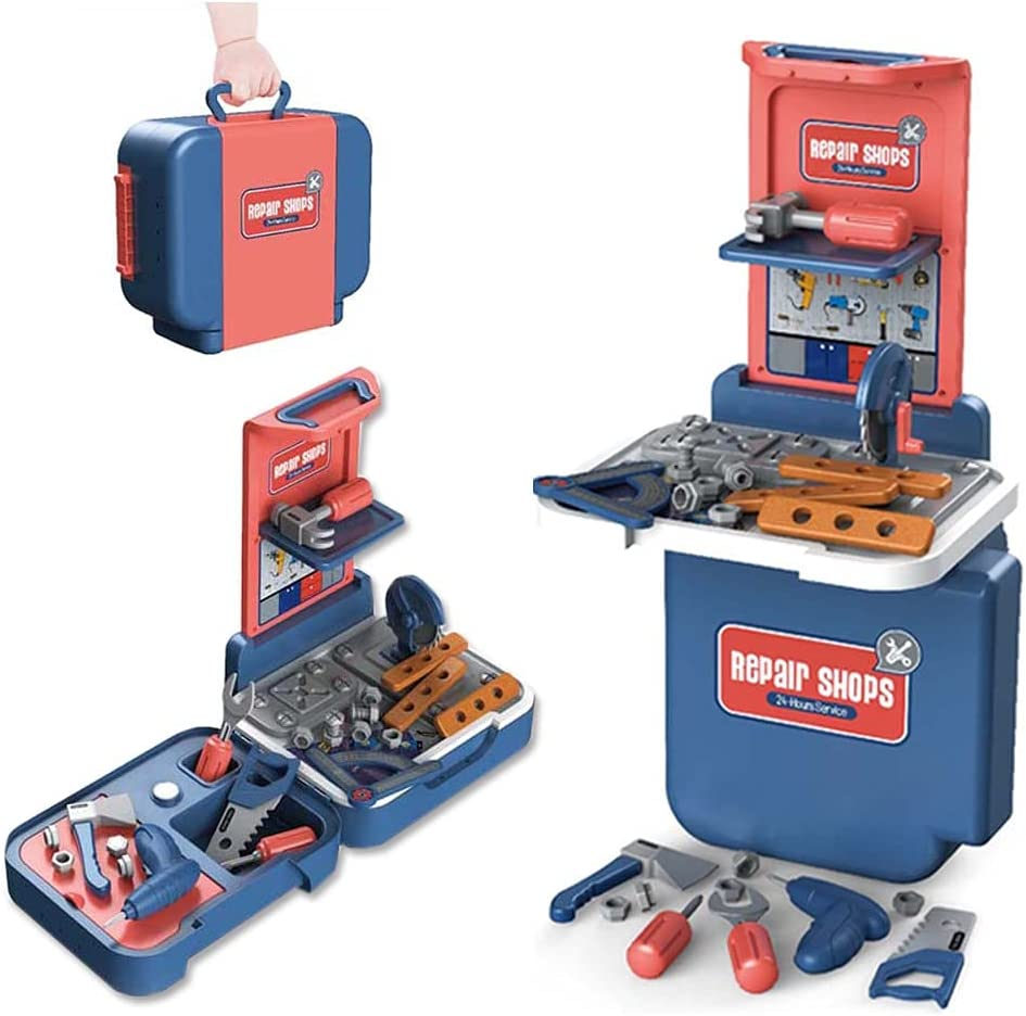 2CJOY 3 in 1 Kids Super-cheap Tool Bench PCS P for Toddlers Set Limited time trial price 43