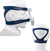 Enshey Universal Headgear Full Mask Replacement Part CPAP Ventilator Headband Comfort Gel Breath Machine Head Band Lightweight and Aseptic for Respironics Resmed Resmart Without Mask