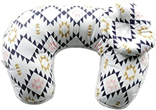 Baby Breastfeeding Nursing Pillow and Positioner,Machine Washable U Shape Nursing and Infant Support Pillow Bonus Head Pos...