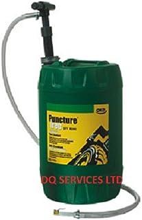 Oko Reifenversiegelung, 25 l, pannenfrei, Reifendichtmittel mit Pumpe