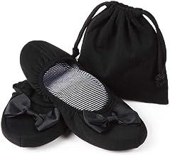 携帯スリッパ 折り畳みスリッパ レディース 室内履き おしゃれ 入園式 入学式 黒 おまけ付き