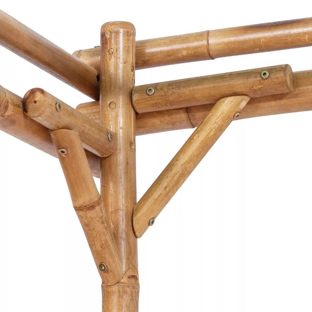 EXJOY Pérgola de bambú 76.8 x 76.8 x 76.8 Pulgadas: Amazon.es: Jardín