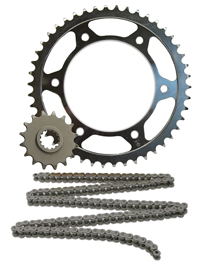 JT Sprockets JTSK2054 520X1R2 Chain and 14 Front/45 Rear Tooth Sprocket Kit