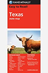 Easy To Read: Texas State Map (Rand McNally Easy to Read!) Map