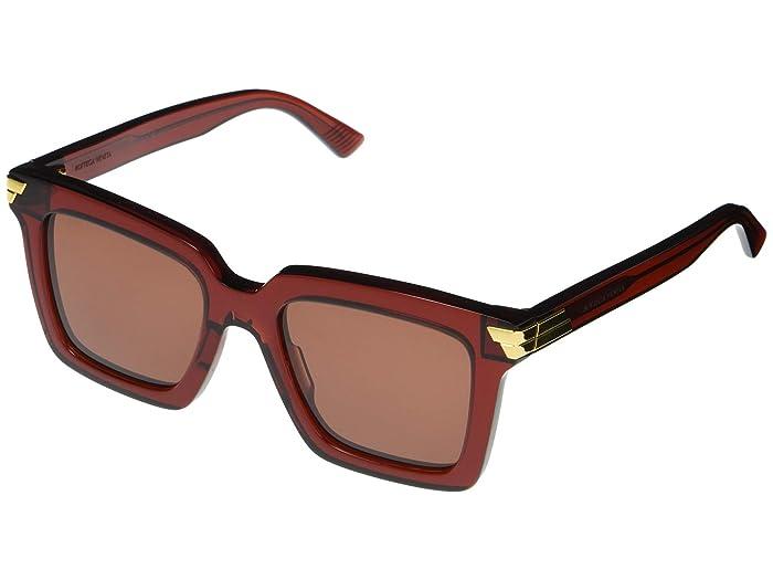 Bottega Veneta  BV1005S (Burgundy) Fashion Sunglasses