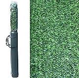 Pal Ferretería Industrial Rollo de seto Artificial ignífugo Verde de ocultación 3x2m (1- Rollo seto 3x2m)