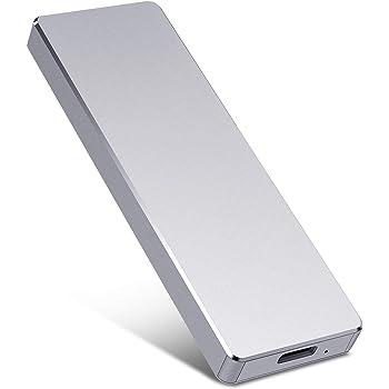 Disco duro externo de 1 TB y 2 TB, USB 3.0Slim, compatible con PC, portátil y Mac (2 TB, plata).: Amazon.es: Electrónica