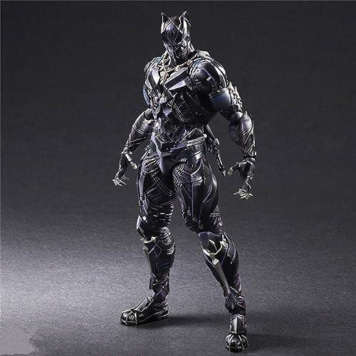 ZHPBHD Avengers Panther Modell bewegliche Statue Anime Ornament 28cm Modell