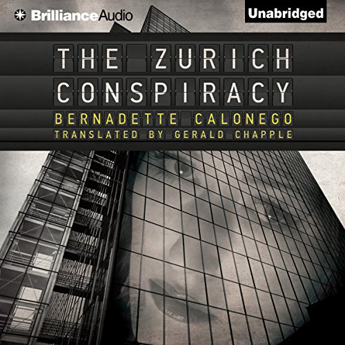 The Zurich Conspiracy audiobook cover art