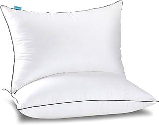 Almohadas de cama para dormir 2 unidades, almohadas hipoaler