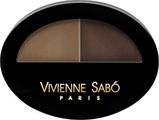 Vivienne Sabo BROW ARCADE Eye Brow Powder Duo 2x0.8g Model Your Eye Brows