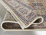 TIWA GHOM echter klassischer Orient Felderteppich handgeknüpft in creme-creme, Größe: 250x300 cm - 3