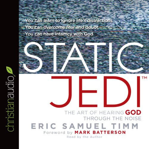 Static Jedi audiobook cover art
