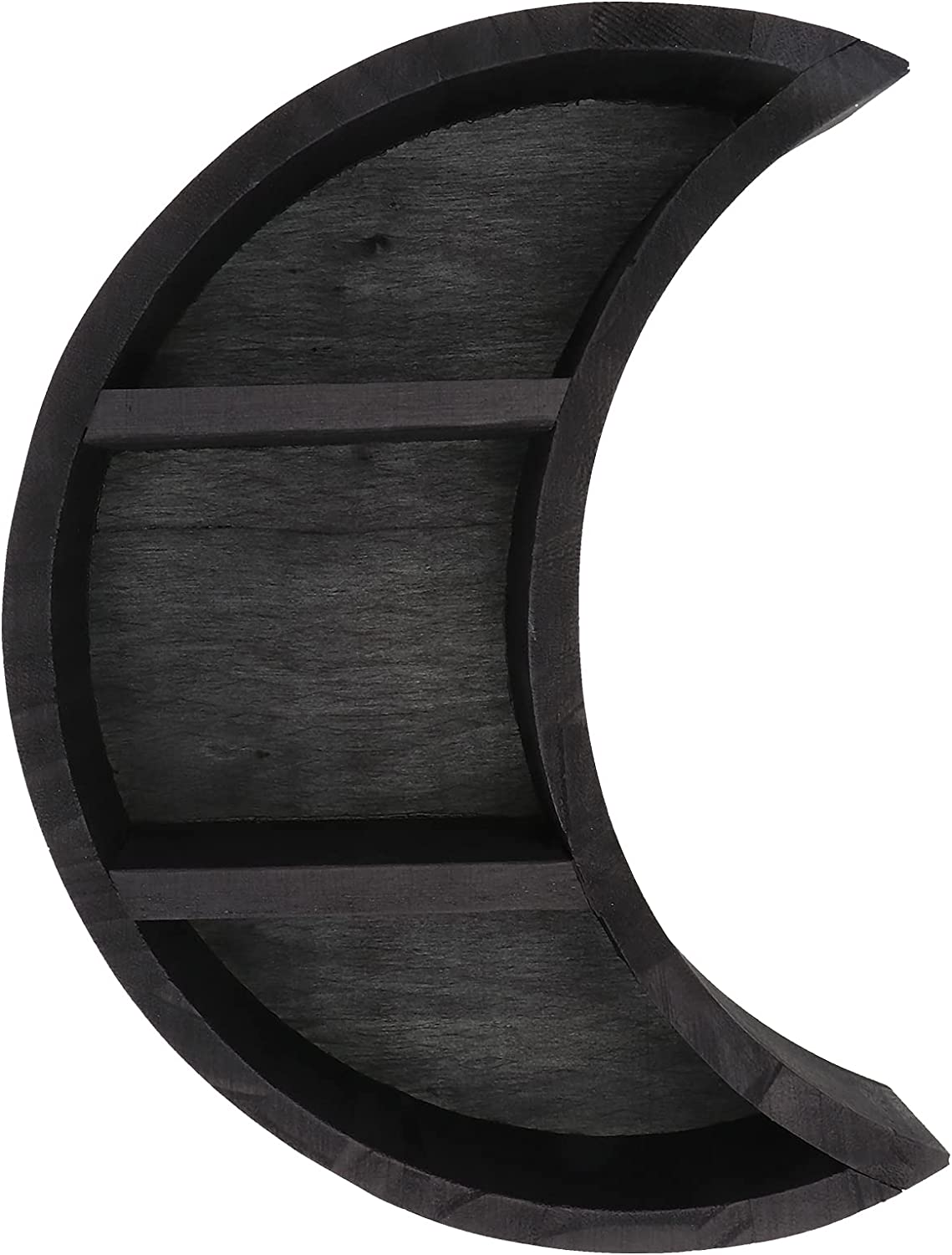 PRETYZOOM Decorative Storage Rack Wall Moon Stand Year-end annual account Shaped Sale