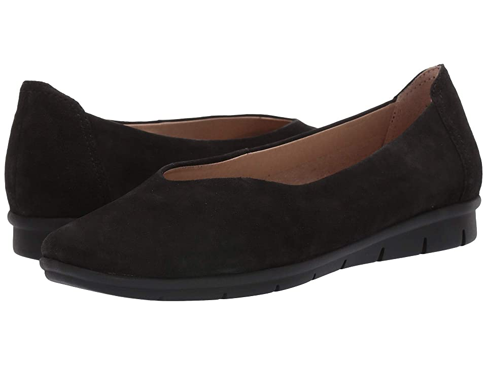 Natural Soul Leyla (Black Suede) Women
