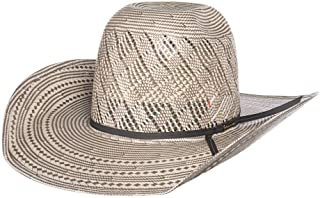 6719f46651297 NRS American Hat Company Mens Patchwork Vent Ivory Grey 4 1 4 Brim Open